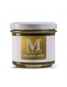 Mermelada en crema para untar, aceite oliva virgen extra. AOVE Malacasta