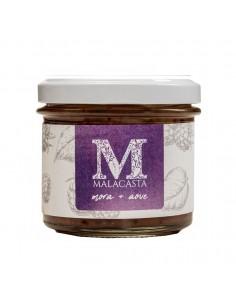 Mermelada crema Malacasta para untar de Aceite de Oliva Virgen Extra Picual con Mora